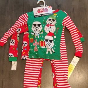 Star Wars 2 Set Christmas Pajama Set